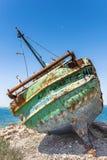 死亡小船 库存图片