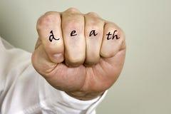 死亡成交 库存图片