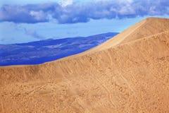 死亡沙丘大国家公园沙子谷 库存图片