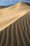 死亡沙丘沙子谷 库存图片