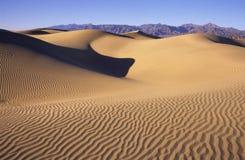 死亡沙丘铺沙谷 库存图片