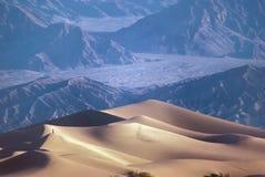 死亡沙丘铺沙谷 库存照片