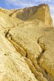 死亡沙漠侵蚀谷 免版税图库摄影