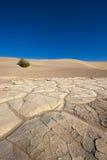 死亡沙漠楼层谷 库存照片