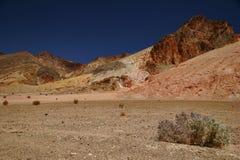 死亡沙漠谷 库存图片