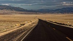 死亡谷国家公园在加利福尼亚 库存图片