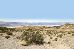 死亡谷横向 免版税库存图片