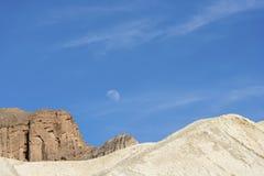 死亡谷横向 库存照片