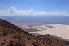 死亡谷的视图在加利福尼亚-美国 免版税库存照片
