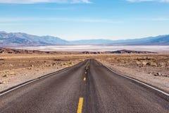 死亡谷风景 库存图片