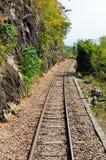 死亡铁路 库存图片