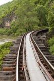 死亡铁路 库存照片