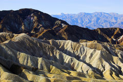 死亡desertscapes谷 库存图片