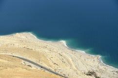 死海海岸。 库存图片