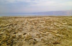 死海视图 库存图片