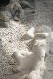 死者在庞贝城 免版税库存图片