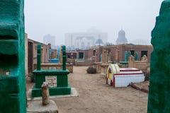 死者城市在开罗 免版税库存照片