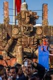 死者的天在墨西哥城 库存图片