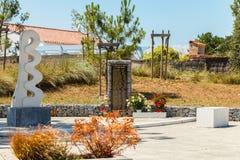 死29个受害者的记忆的纪念碑由导致 库存图片