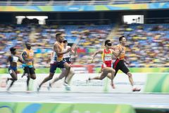 残奥会开幕式里约2016年 免版税库存照片