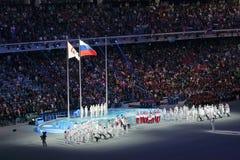 残奥冬天比赛2014年 免版税库存照片