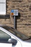 残疾停车场 库存照片