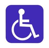 残疾后备 免版税库存图片