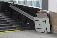 残疾的电梯 库存照片