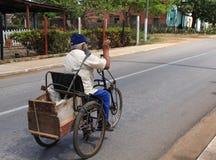 残疾的自行车 免版税库存照片