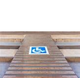 残疾的舷梯 免版税库存照片