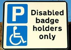 残疾符号 库存图片
