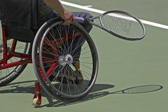 残疾网球 免版税图库摄影