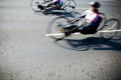 残疾运动员 库存照片