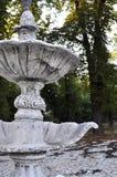 残破的喷泉 免版税库存照片