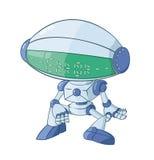 残破的机器人 免版税库存照片