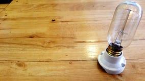残破的电灯泡设备 免版税图库摄影