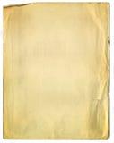 残破的老纸纹理 免版税库存照片