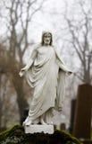 残破的耶稣 免版税库存图片