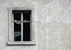 残破的视窗 库存照片