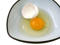 残破的鸡蛋 库存图片