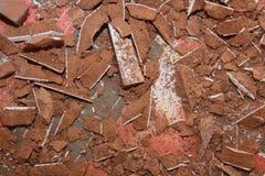 残骸岩石 库存图片