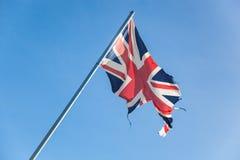 残破的大英帝国 库存图片