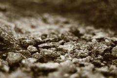 残破的岩石 库存图片