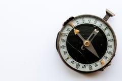 残破的指南针 免版税库存照片