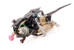 残破的机械玩具 免版税库存图片