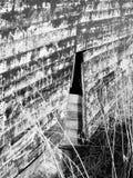 残破的槽枥腐烂的木样式 免版税库存图片