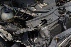 残破的汽车 免版税库存图片