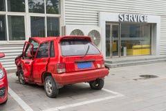残破的汽车 免版税库存照片