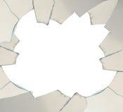 残破的玻璃 库存照片