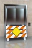 残破的电梯 免版税库存照片